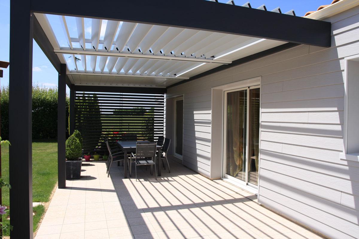Pergolas - Gamme des aménagements extérieurs - Loire Menuiseries Services